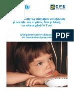 Dezvoltarea Abilitatilor Emotion Ale Si Sociale Ale Copiilor