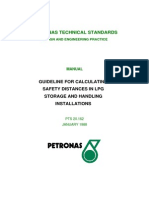 LPG Safety Distance Guide