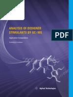 Analysis of Designer Stimulants by Gc-ms