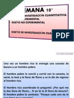 SEMANA 10 DISEÑO DE INVESTIGACIÓN Cuantitativa y Cualitativa.ppt