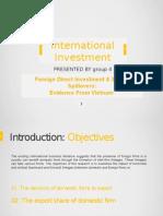 Intl Ivmt - G4 - DTUE.1 Presentation
