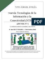 APUNTE Nº 1 NTICx 4º Secundaria 2012 DELIA