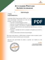 2014_1 ATPS_Administracao_ 1_Empreendedorismo