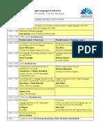 Programme COLT Conference