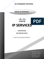 CISCO IP Services User