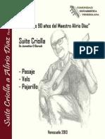 Suite Criolla - Homenaje a Alirio Díaz