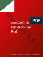 AutoCAD 2012 Instalacion Red (Salesforce)