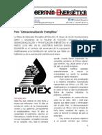 01.- Foro Desnacionalización Energética