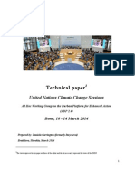 Technical Paper - United Nations Climate Change Sessions