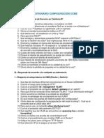 Cuestionario Configuración CME y QoS