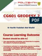 CG601 GEODESY 2 Explaination