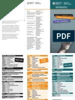 Programa XXIII Jornadas Investigacion 2013
