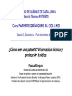3 Como Leer Una Patente Informacion y Proteccion Pascual Segura CQC ST Patents