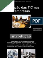 As TIC nas Empresas
