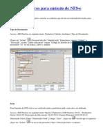 Verificar cadastros para emissão de NFS.docx