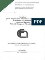 CNR CLS Con Barre Di Materiale Composito Fibrorinforzato
