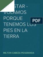 HELISTAR - VOLAMOS PORQUE TENEMOS LOS PIES EN LA TIERRA