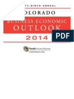 2014 Colorado Business Economic Outlook