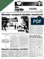 James Taylor - Gazette 1981