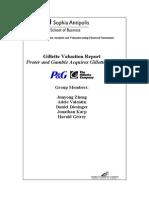 Gillette Valuation Report