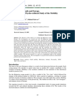 Bulgarian Youth and Europe. Multivariate Psycho-cultural Study of the Mobility Attitudes