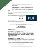 Ley Para La Construccion y Rehabilitacion de Pavimentos Del Estado de Nuevo Leon