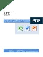 Shortcut ms office keys pdf 2010