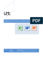 Keyboard Shortcuts in Microsoft Office 2010