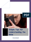 Simple Tips for Understanding the Bible