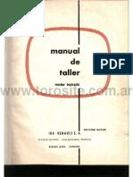 Manual de Taller Motor Tornado