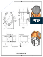 Flange Part Drawing