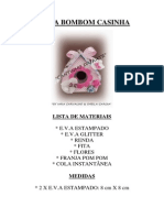 Porta Bombom Casinha