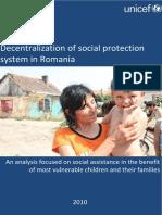 Decentralization of Social Protection in Romania (en)