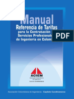 Manual Tarifas ACIEM 2008