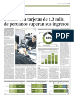 Deudas con tarjetas de peruanos superan sus ingresos_Gestión 19-03-2014