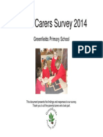 Greenfields Primary School - Parent Survey Response Form 2014