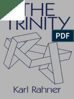 Karl Rahner Trinity Continuum (2001)