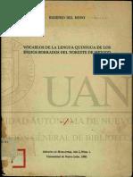 vocabulario quinigua borrados