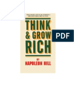 Hill Napoleon - Think and Grow Rich - 2000