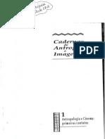 Cadernos de Antropologia e imagem n° 1 Antropologia e cinema primeiros contatos