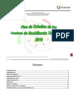 Plan de Estudios Bachillerato Tecnológico