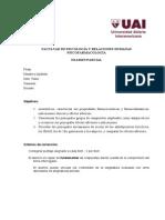 2013 - Psicofarmacología - Parcial