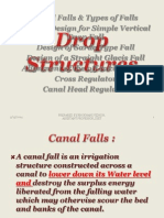 Drop Structure Canal falls