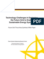 PSERC Future Grid White Paper Synthesis June 2012