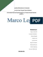 Resumen Marco Legal
