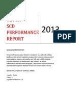 teton scd 2013 performance report