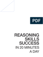reasoning skills success in 20 minutes a day 2005