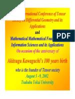 Masfak Tensor Andj and Rask 2003