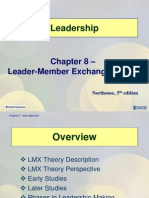 leader member exchange theory