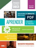 Panorama de La Efectividad en El Desarrollo (DEO) 2013